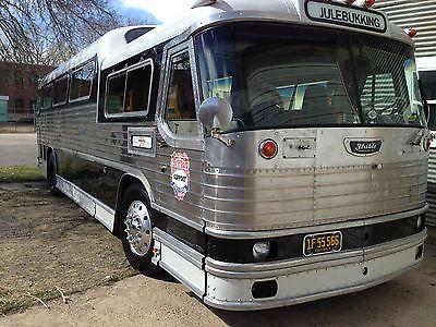 1955 Flxible Vistaliner For Sale In Denver Colorado 25k Buses