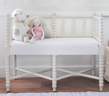 Dara Bench #pbkids | Nursery Decor! | Pinterest