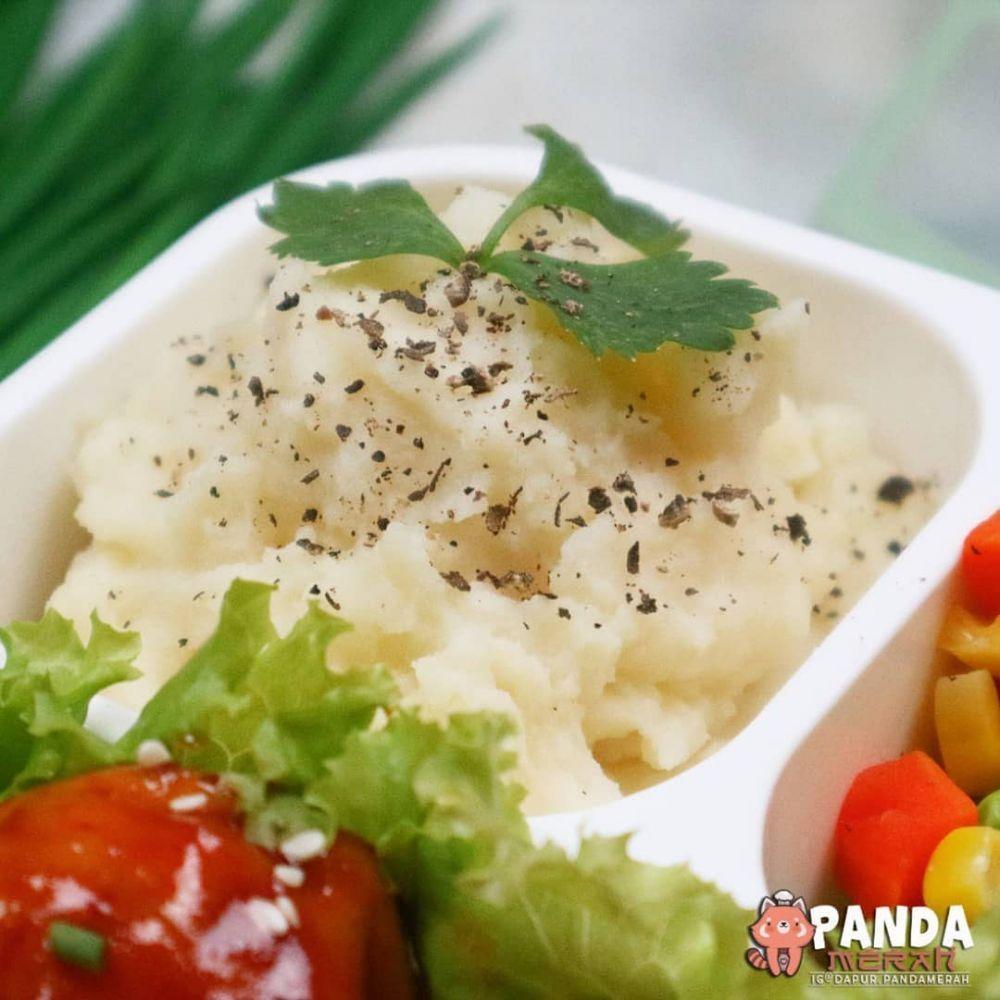 Resep Mashed Potato Instagram Kentang Tumbuk Makanan Kacang Polong