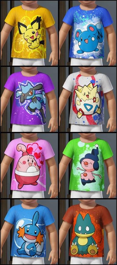 Miss Skitty's Custom Content - A Bunch of Pokemon CC