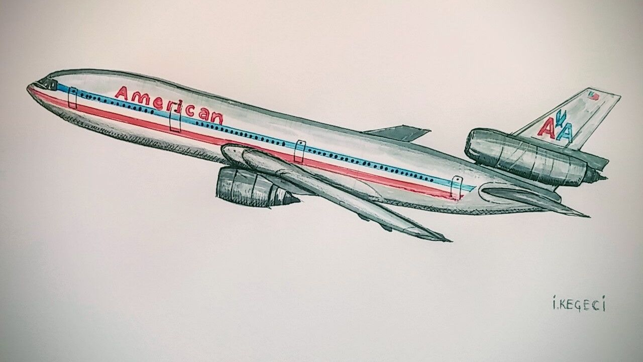 Pin By Ira On Art Plane Drawing Airplane Drawing Airplane