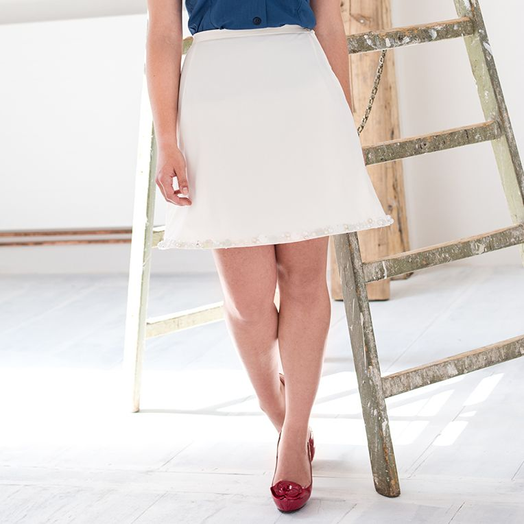 skirt free pattern - Rock Tina (14/4) | Sewing for Woman: Skirts + ...