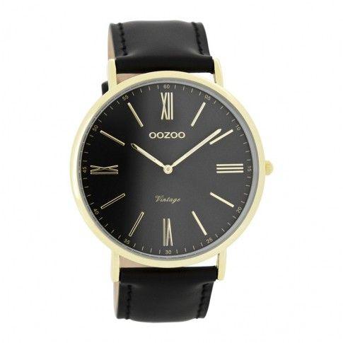 OOZOO Vintage horloge Zwart C7704