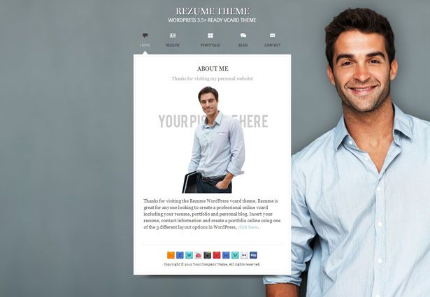 A resume or cv like business card design web design pinterest a resume or cv like business card design yelopaper Images