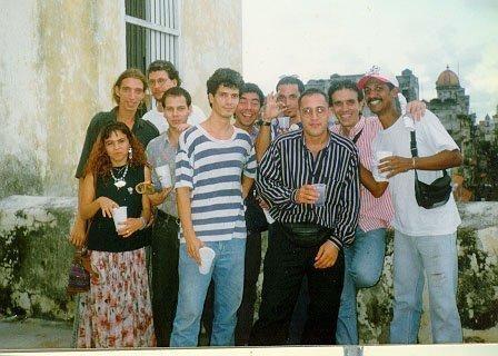 Colon lo que te estas perdiendo. 1996 .Centro de Artes Visuales, La Habana , Cuba.