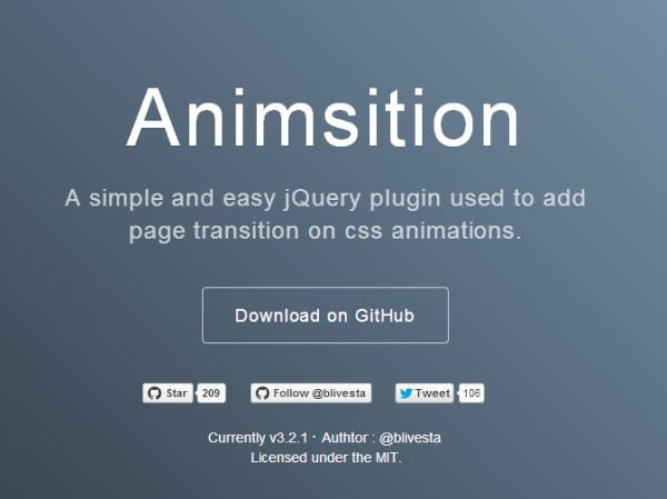 Create a responsive animated css Tabs-content with pure CSS Jquery - best of blueprint fixed background scrolling layout
