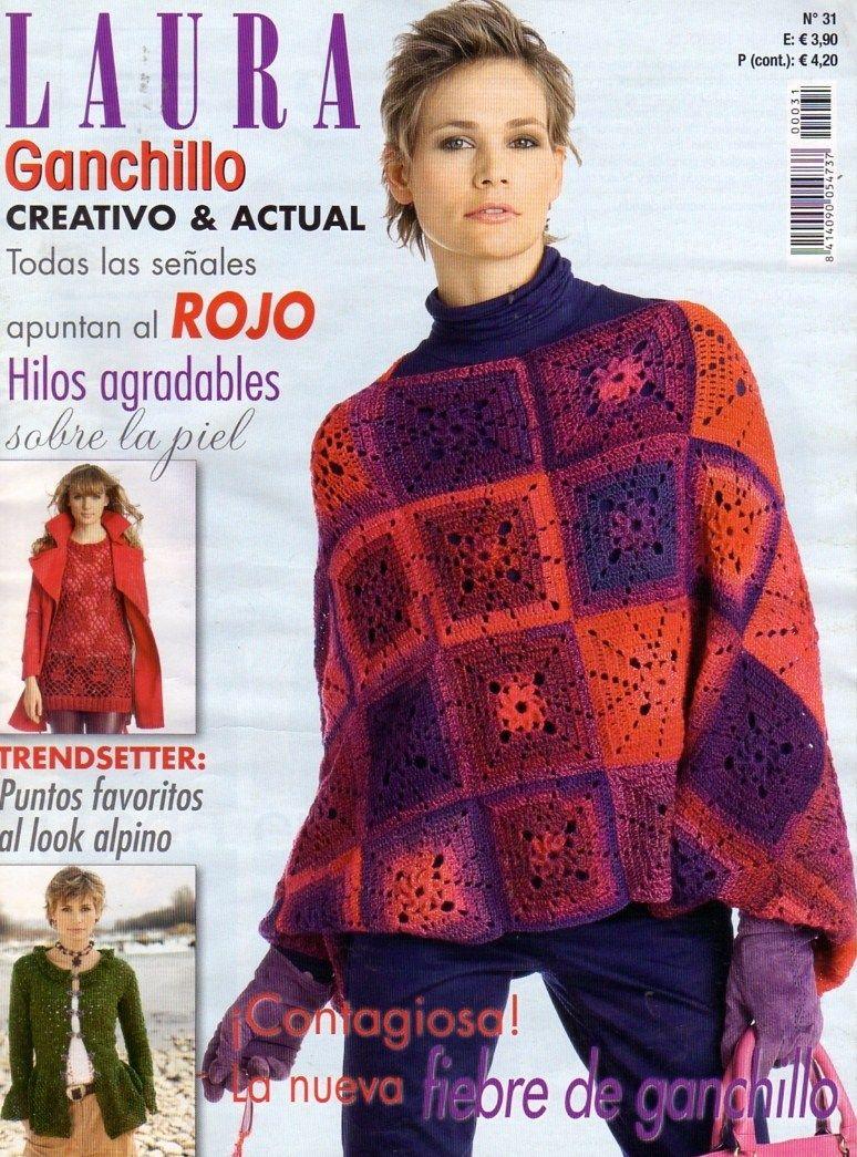 Revista de ganchillo | crochet | Pinterest | Revista de ganchillo ...