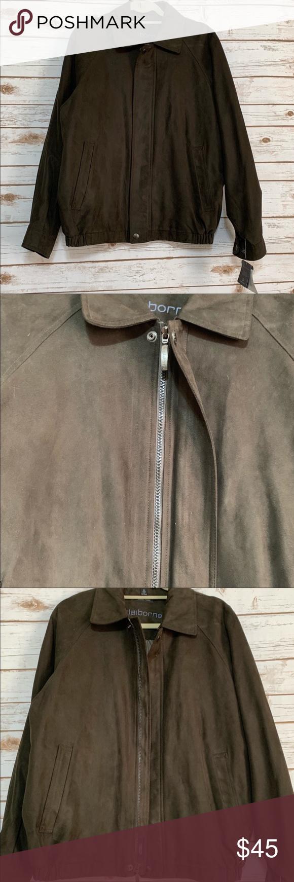 Men S Claiborne Outerwear Morgan Jacket Nwt Jackets Claiborne Clothes Design [ 1740 x 580 Pixel ]