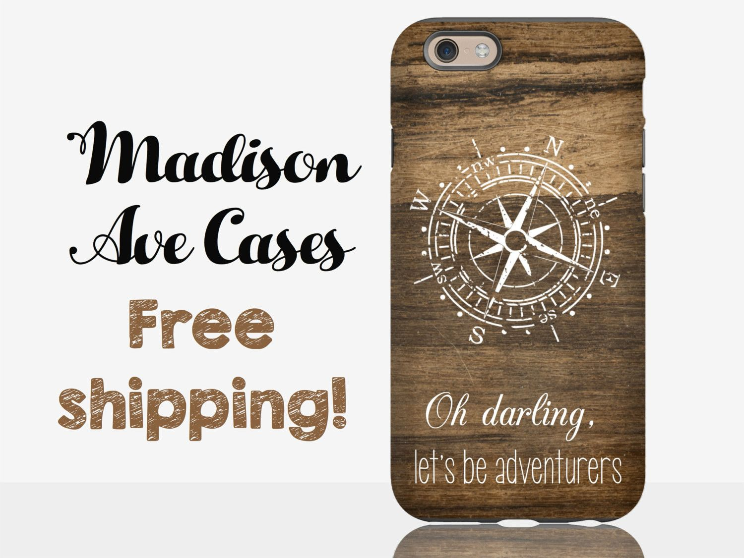 Oh Darling, Let's Be Adventurers Phone Case – Madison Ave Cases