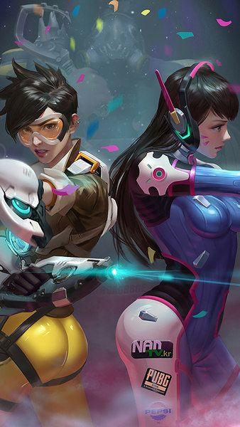 Tracer D Va Overwatch Girls 4k 3840x2160 1920x1080 2160x3840 1080x1920 Wallpaper Overwatch Wallpapers Overwatch Fan Art Overwatch