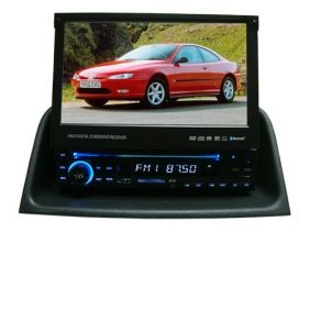 7\ Peugeot 406 DVD Player with touch screen, USB, SD, AM/FM radio