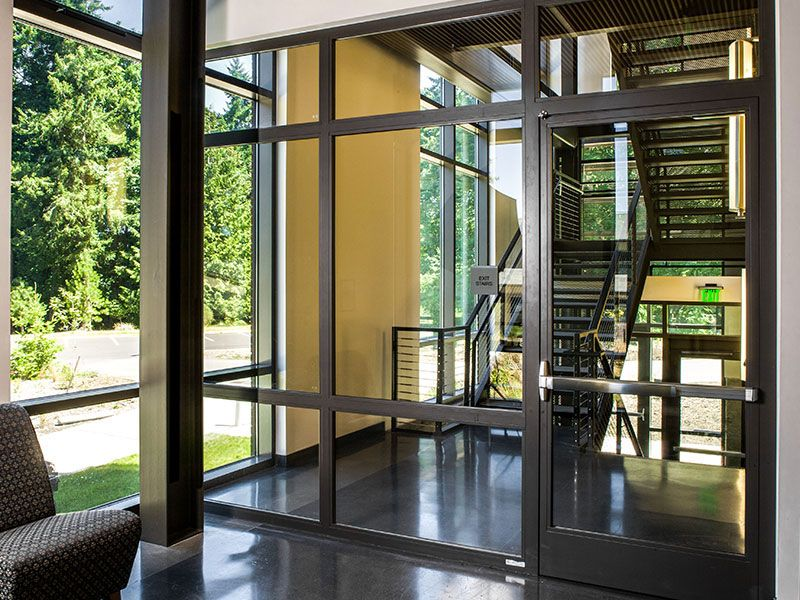 Product: Fireframes® Designer Series Doors With Pilkington Pyrostop® Glass  Firewall