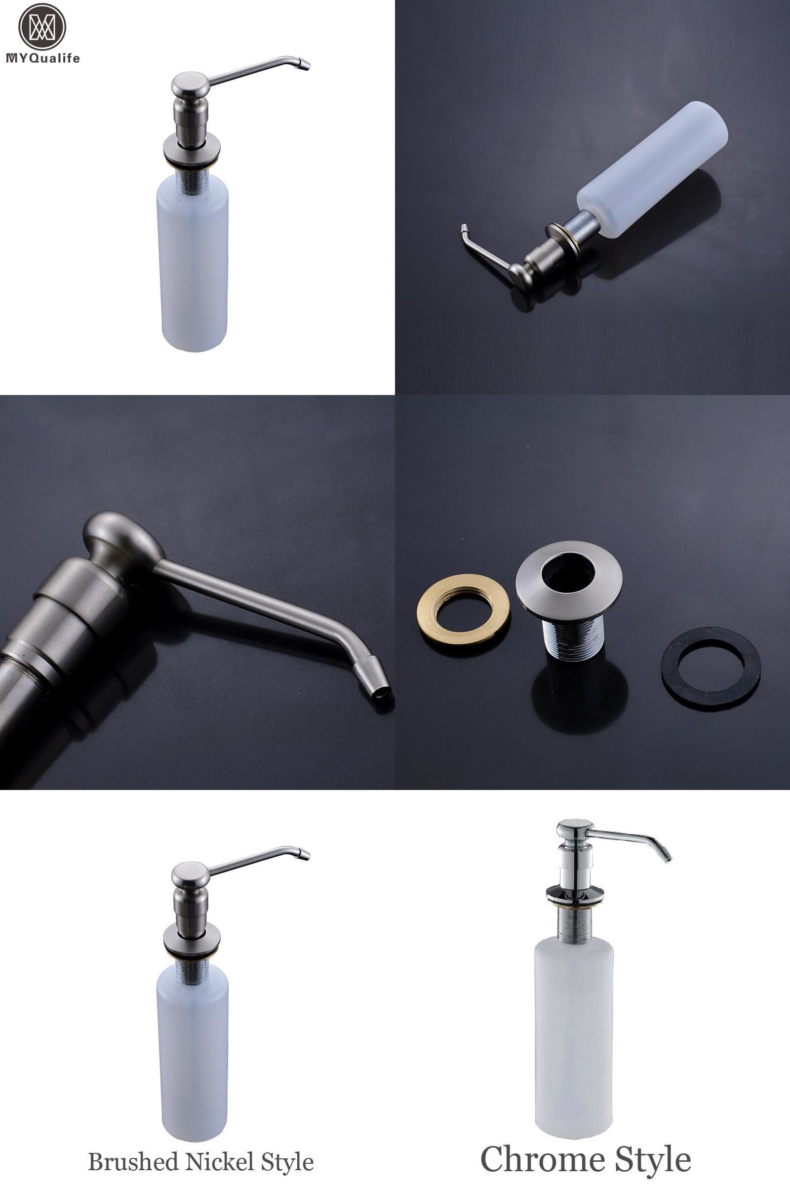 Visit To Buy Free Shipping Kitchen Sink Soap Dispenser Plastic Bottle Deck Mounted Hand Liquid Soap Dispe Sink Soap Dispenser Soap Pump Dispenser Liquid Soap