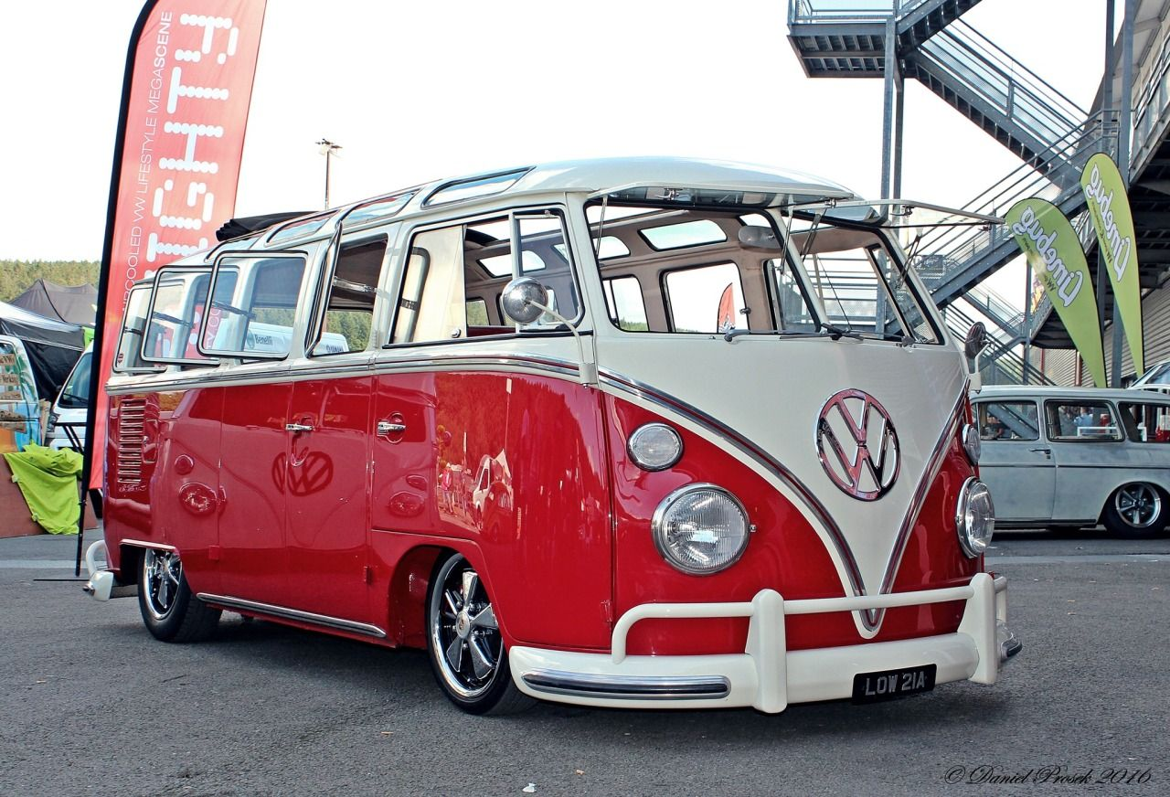 Aircooled Foto Vw Hippie Van Volkswagen Bus Camper Bulli