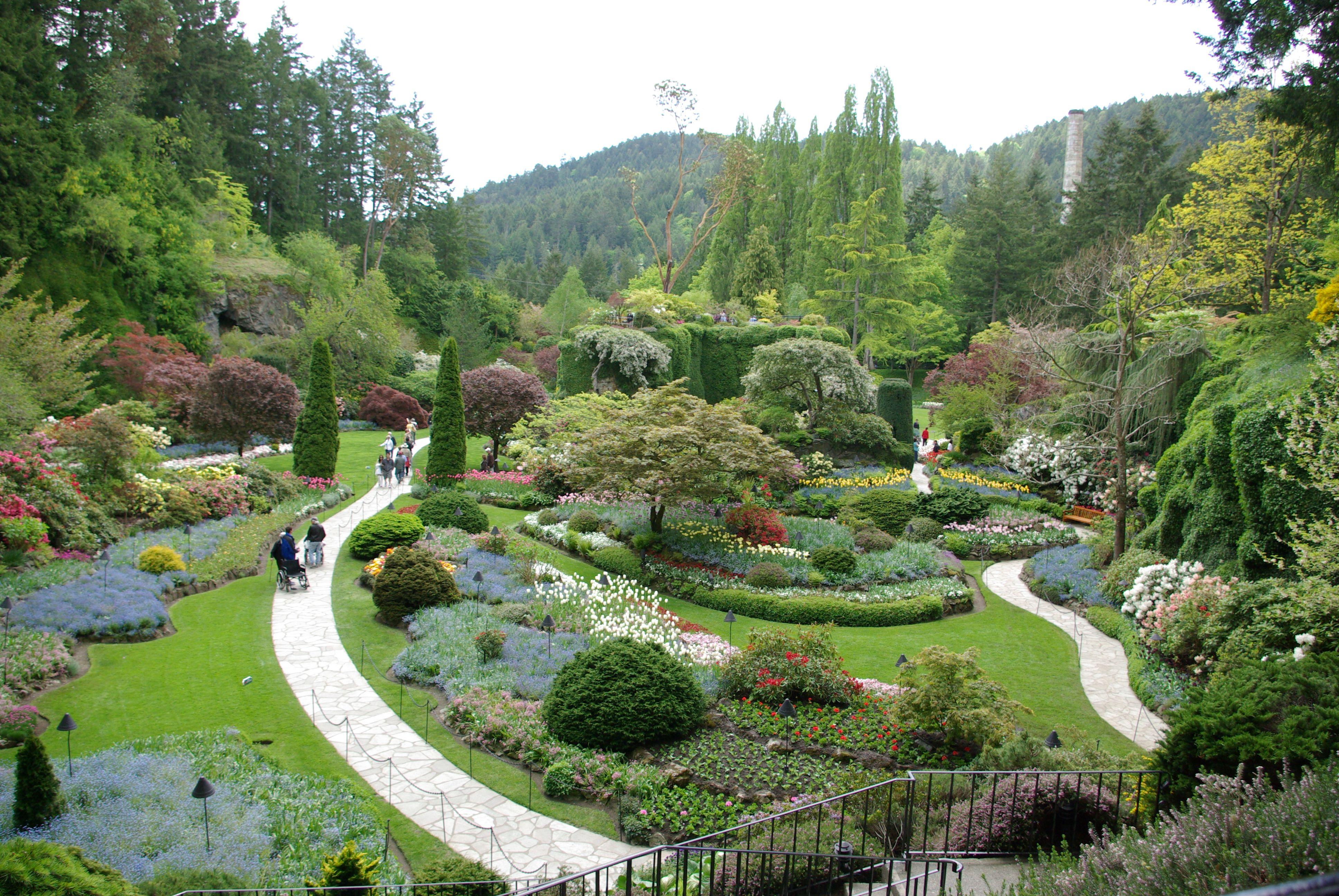 Eden? Butchart Gardens - Victoria, BC | Butchart gardens ...