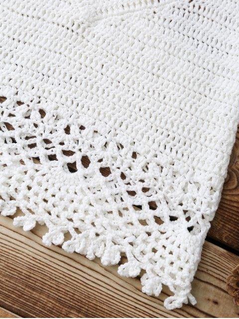 Crochet Crop Cover Up Top | Tapas, Único y Ganchillo