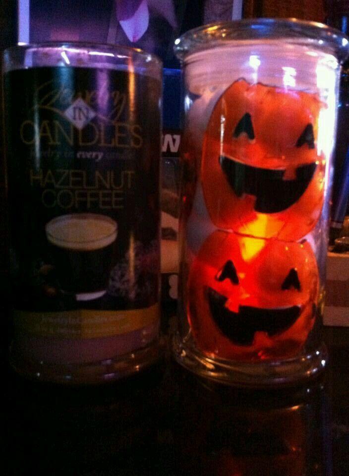 Halloween Upcycle; window clings, glow sticks cotton balls Boo - halloween window clings