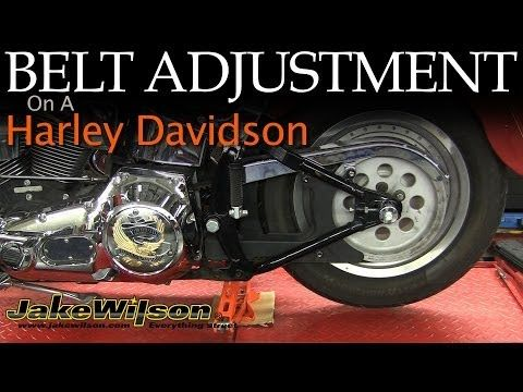 """Need to adjust the final drive belt on your Harley Davidson Motorcycle.  This """"How To"""" video will walk you through the steps of adjusting the drive belt.  Save time and Money."""