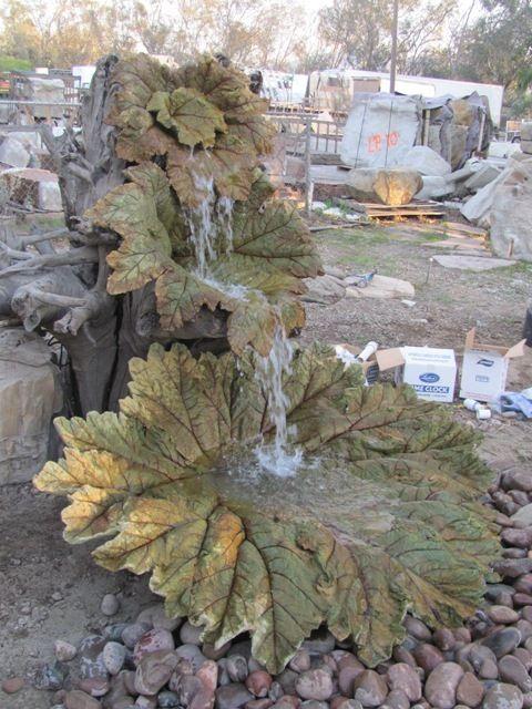 The Leaf Fountain Decoración hogar Pinterest Cascadas para