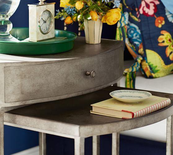 Woodrow Metal Nesting Nightstand Set Of 2 Home Master
