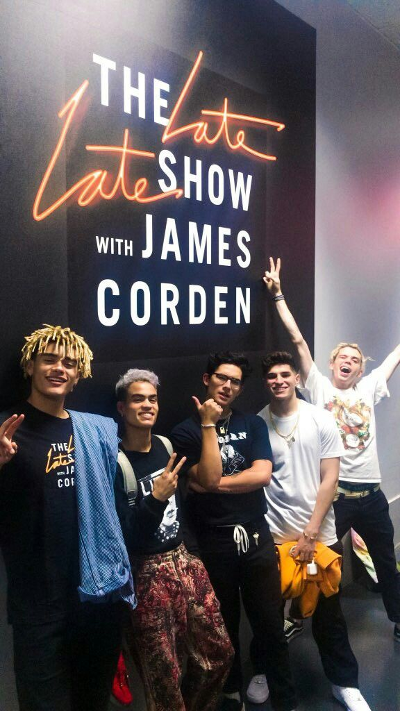 I'm so proud of them  #prettymuch #TheLateLateShow