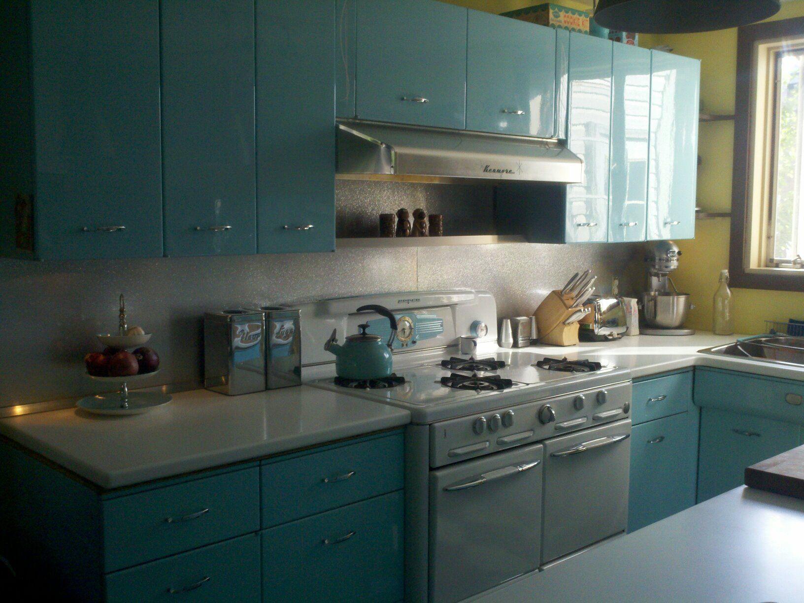 Geneva Cabinets Retro Kitchen Vintage Kitchen Metal Kitchen Cabinets