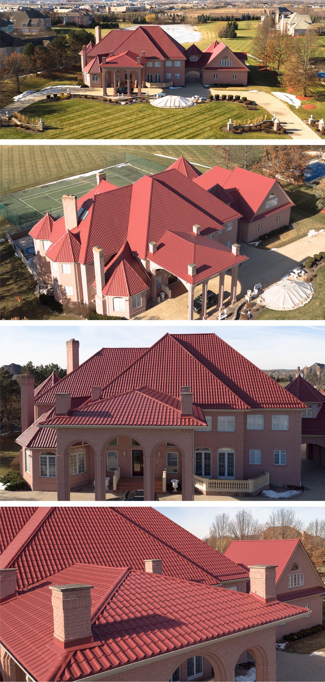 Tile Interlock Metal Roofing Aluminum Roof Roofing Mediterranean Tile