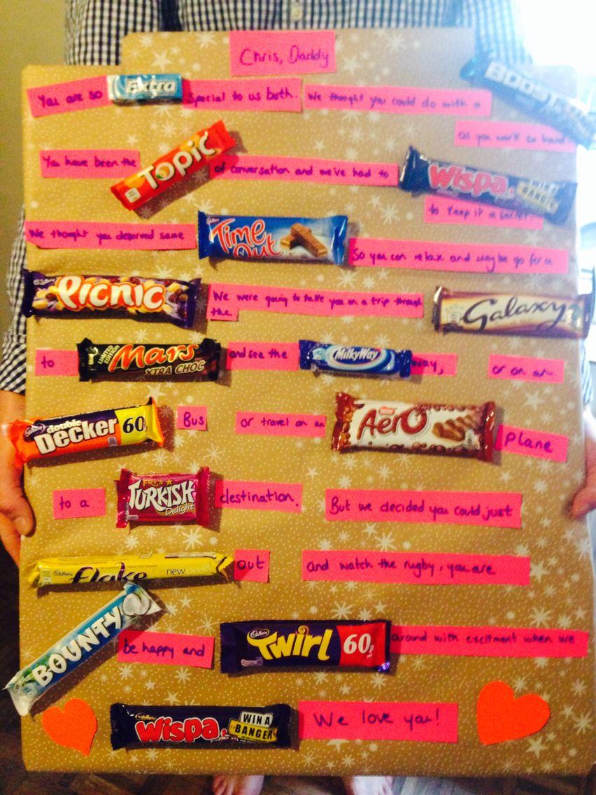 A Chocolate Bar Story Board Gifts Birthday Cake Cake