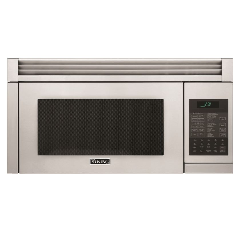 "30"" Viking Over-the-Range Microwave with built-in exhaust system and child safety features"