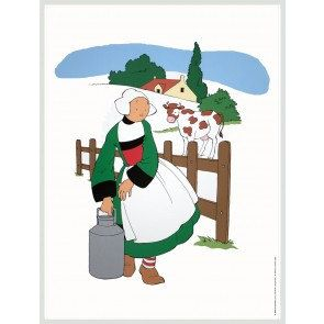 Unknown Becassine A La Campagne 1994 Framed Offset Lithograph Sku Qyy8151 Art Lithograph Art Print Display