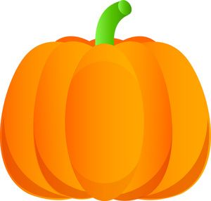 Pumpkin Clipart Image: Halloween Cartoon Pumpkin