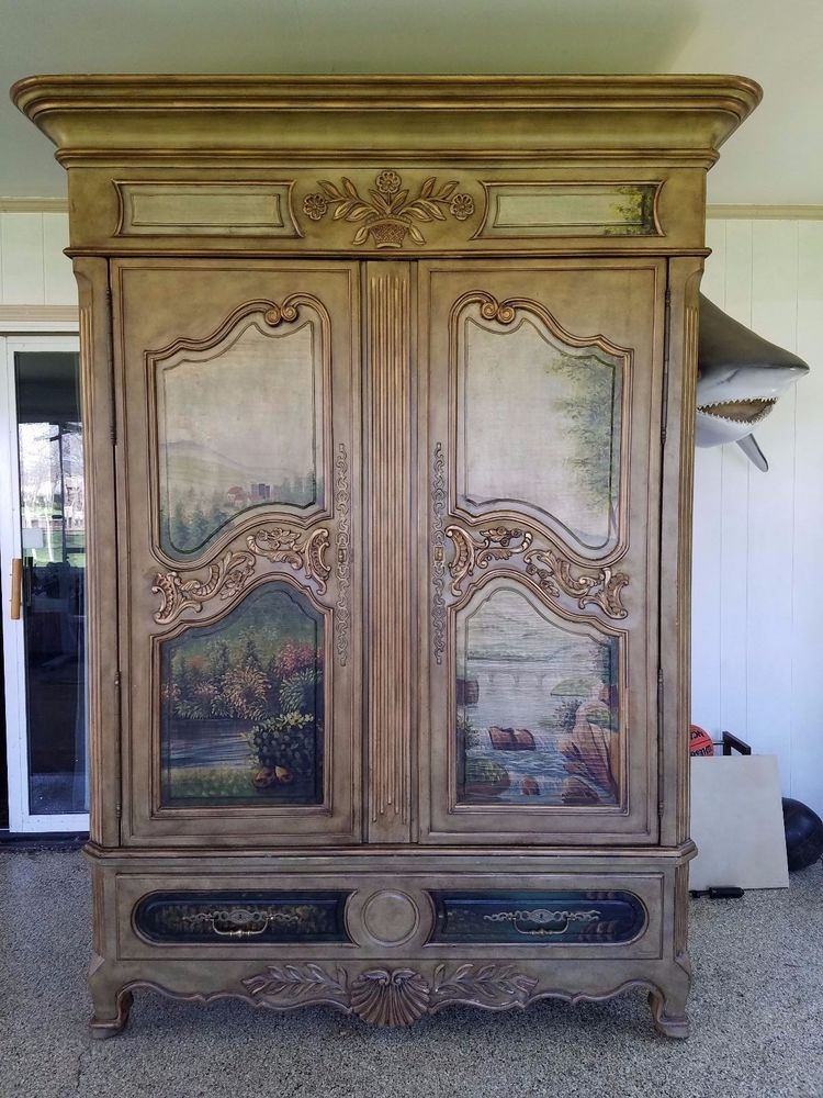 **RARE** Ernest Hemingway Paris Collection Armoire #Thomasville Thomasville  Furniture, Furniture
