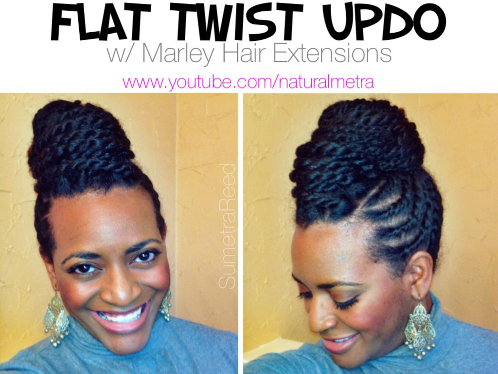 Now available on youtube flat twist updo with marley hair my flat twist updo with marley hair baditri Images
