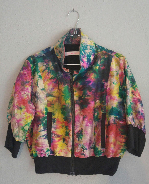 Batik silk jacket von MiriamStrehlau auf Etsy