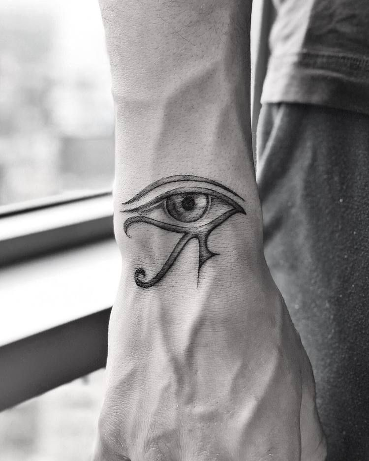 44 Timeless And Meaningful Egyptian Tattoo Designs Horus Tattoo Egyptian Tattoo Egyptian Eye Tattoos