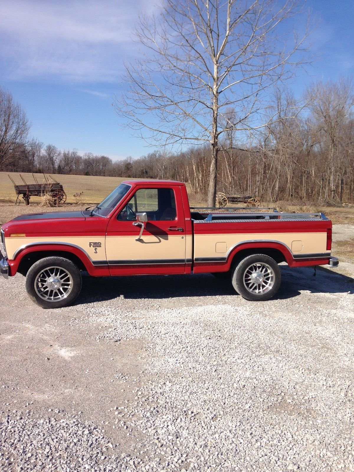 1986 ford f150 short bed pickup