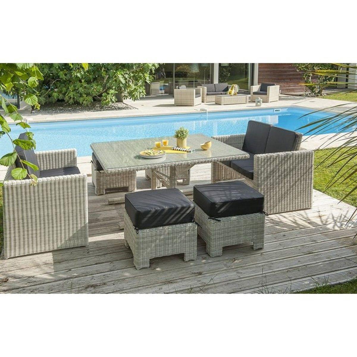 Salon de jardin encastrable 8 places in 2019 | Products ...