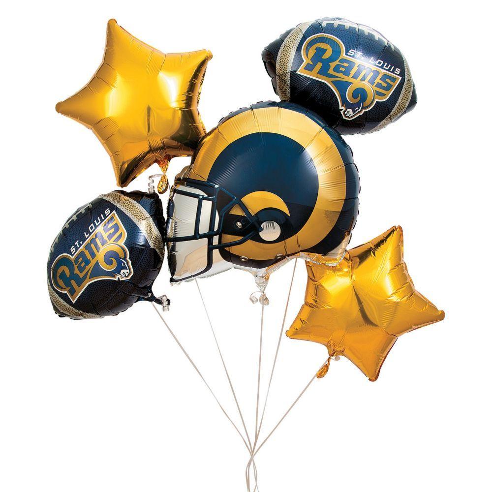 NFLR St Louis RamsTM Mylar Balloons