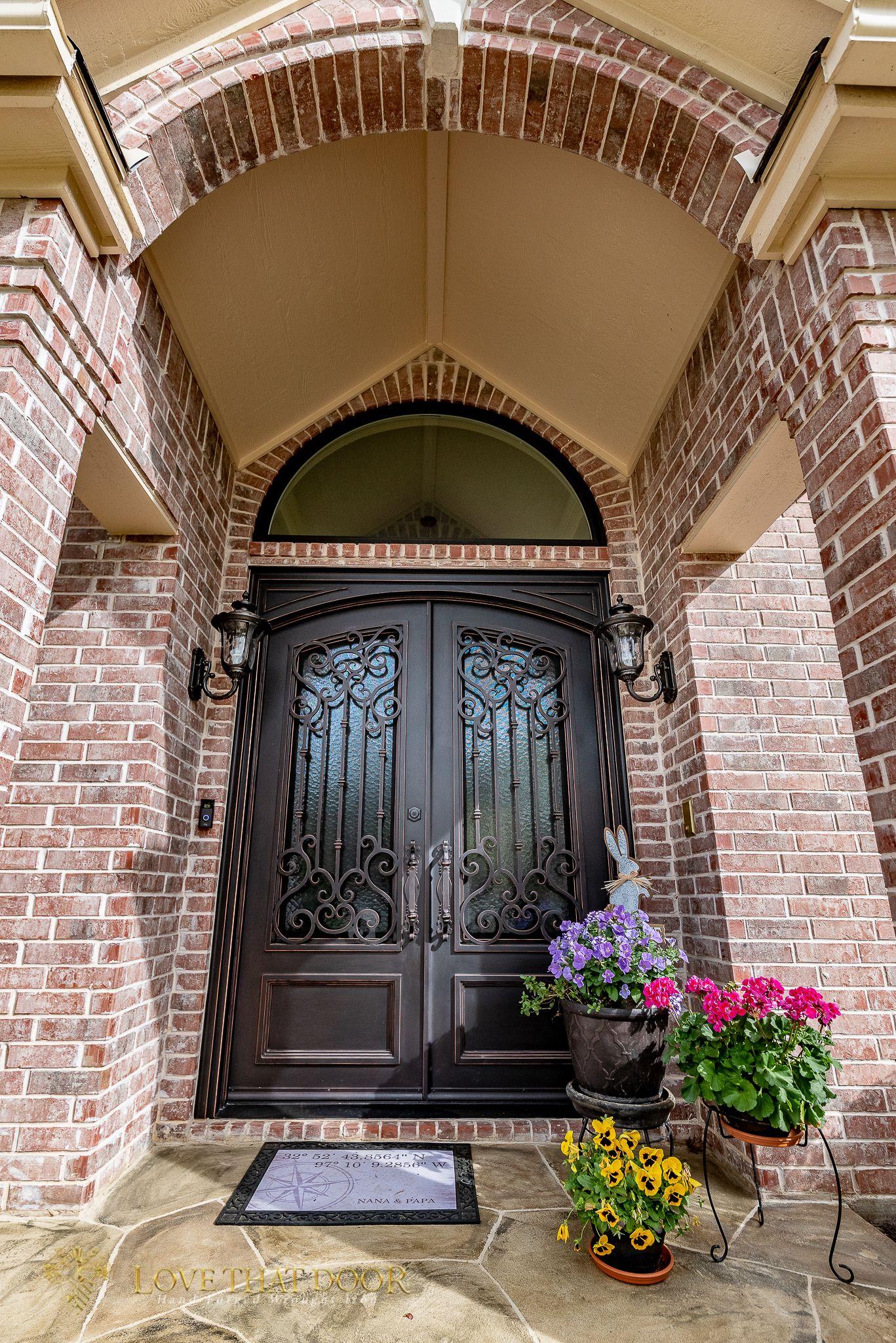 Double Entry Iron Doors Dallas Allen Rockwall Rowlett Mckinney