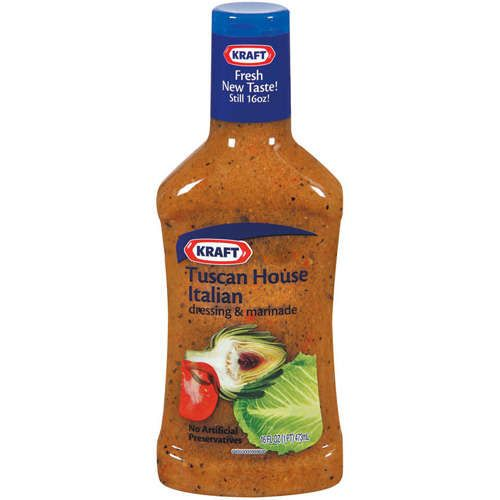 Kraft dressing marinade tuscan house italian taste as - Where can i buy olive garden salad dressing ...