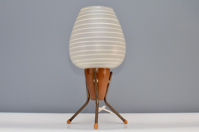 170 Ideeën Over Hildehoff Design Midcentury Lamps Glazen Tafellampen Lampen Vintage Ruimte
