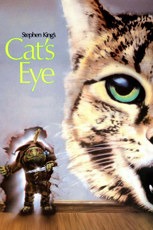 Cat S Eye Movie Poster Stephenking Fantastic Movie Posters Scifimovies Posters Horrormovies Posters Actionm Cats Eye Movie Stephen King Stephen King Movies