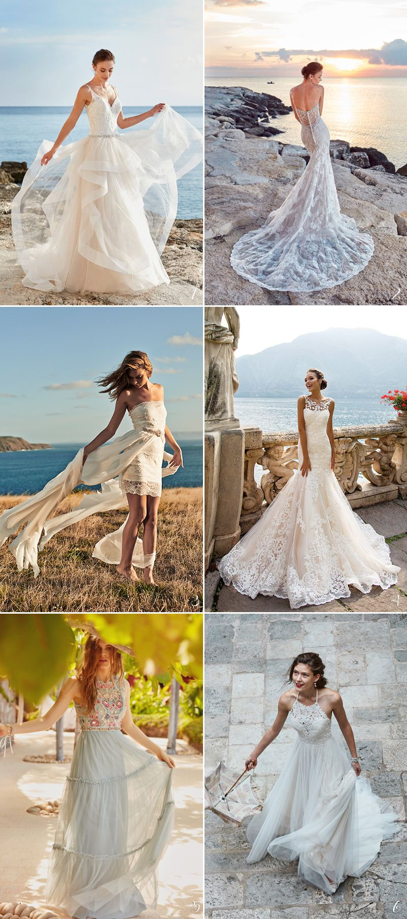 30 Perfect Gowns For Every Type Of Outdoor Wedding This Summer Praise Wedding Summer Wedding Gowns Summer Wedding Dress Summer Wedding Outdoor [ 1806 x 800 Pixel ]