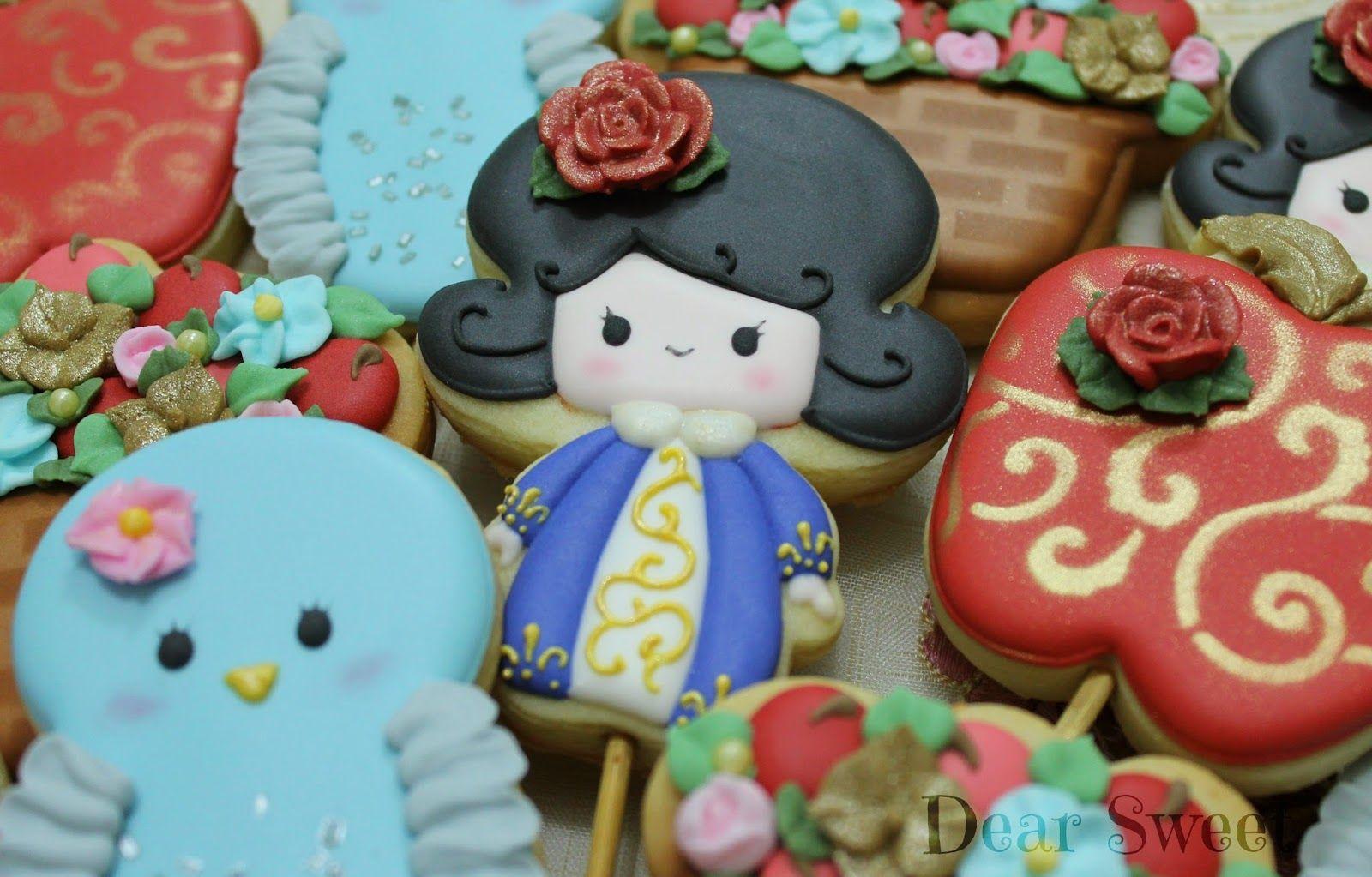 Dear Sweet: Branca de Neve!  { Snow White! }
