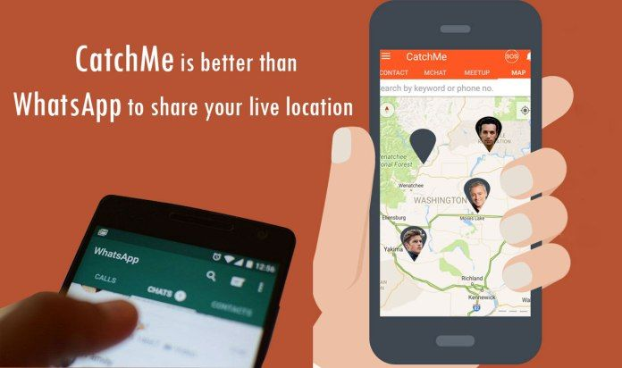 CatchMe is having many benefits over #WhatsApp as a better