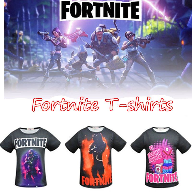 Fortnite T Shirts Inspired Ps4 Xbox Gaming Boy Girls Kids Men T