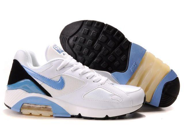 Air Max 180 White Blue Black Shoes for Men