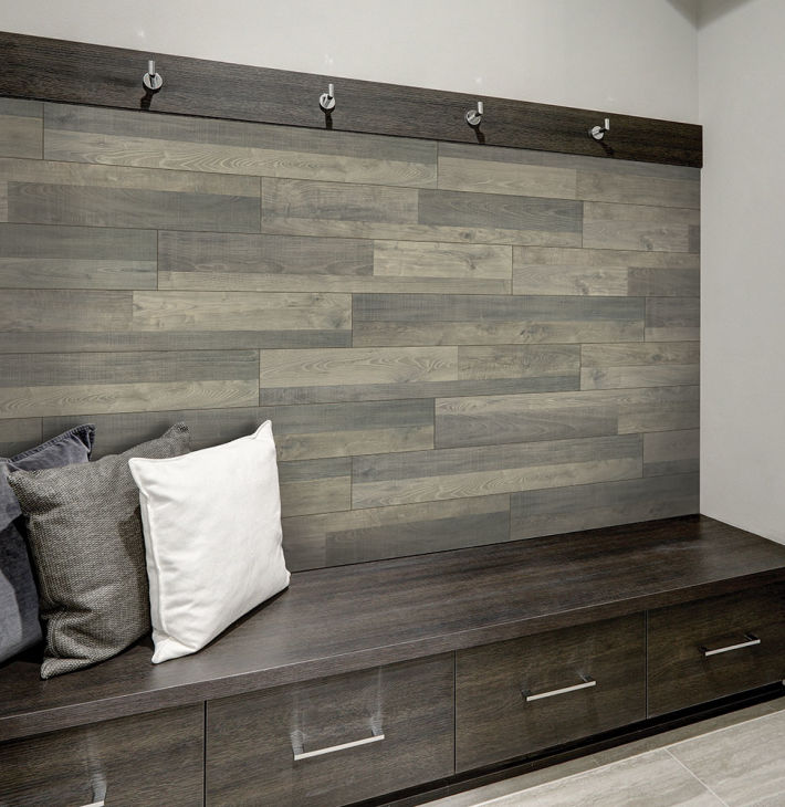 Step Studio Laminate Flooring At Lowe S, Using Laminate Flooring On Walls