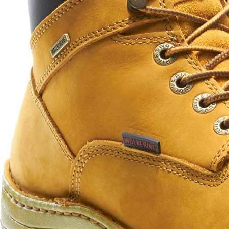 Wolverine Mens Dublin Leather Waterproof Lace Up Boot