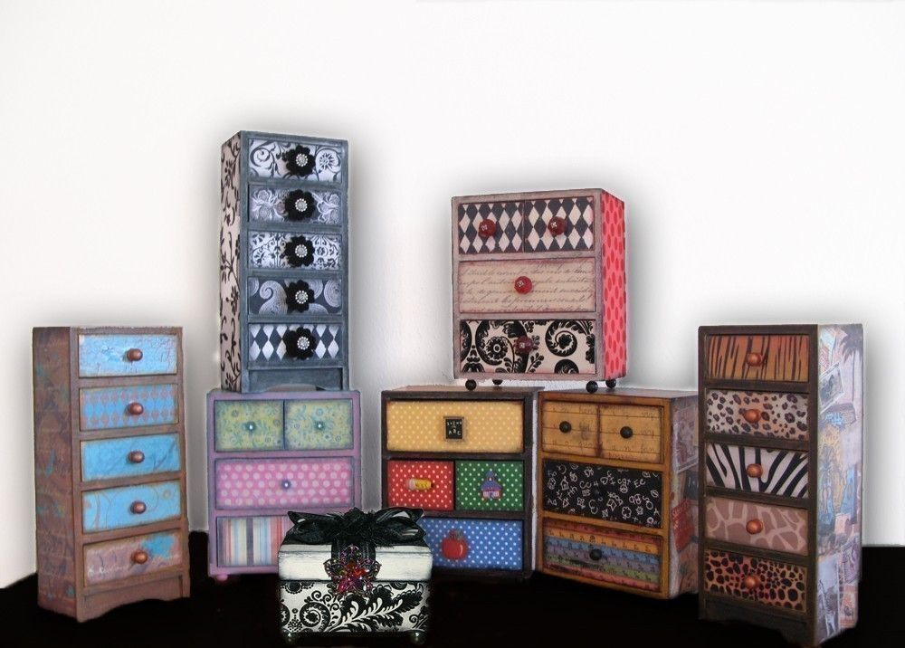 Wooden Craft Boxes To Decorate Cool Decorated Boxesdo Things With Furniturereclaimpaint Inspiration Design